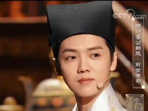 央视镜头下的鹿晗,在粉丝的眼里简直是女版西施,潘安再世