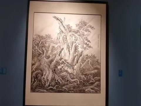 """国家博物馆""""重山和畅-苗重安绘画展"""""""