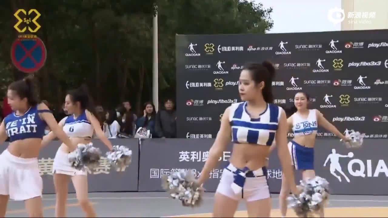 水手服的诱惑!沈阳啦啦队姑娘们火辣热舞撩人