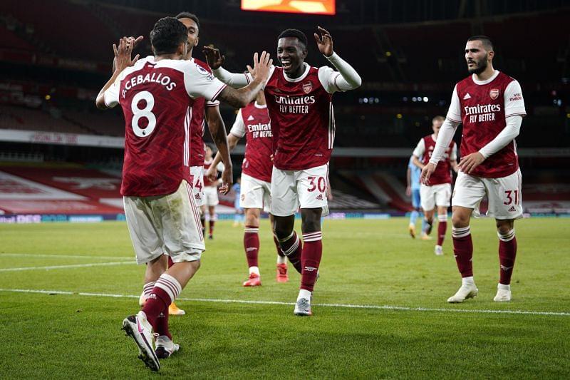 阿森纳在酋长球场2-1战胜西汉姆联队