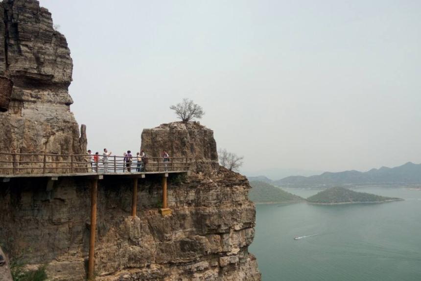 """河北的另一个景点很受欢迎 被称为保定""""小桂林"""
