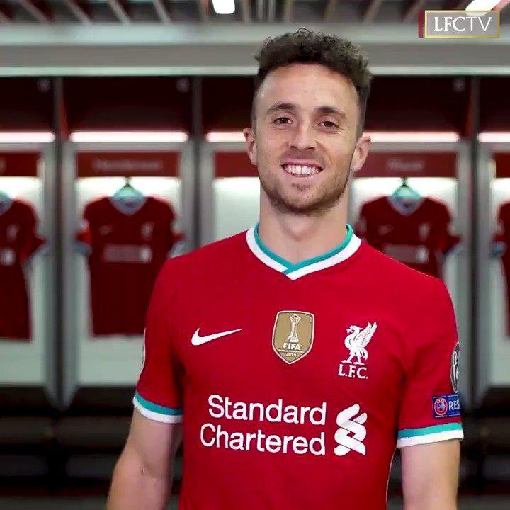 官宣!若塔加盟利物浦!身穿20号球衣!