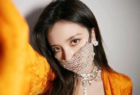 宋妍霏的钻石口罩有点强,不愧是走在时尚前沿的女明星