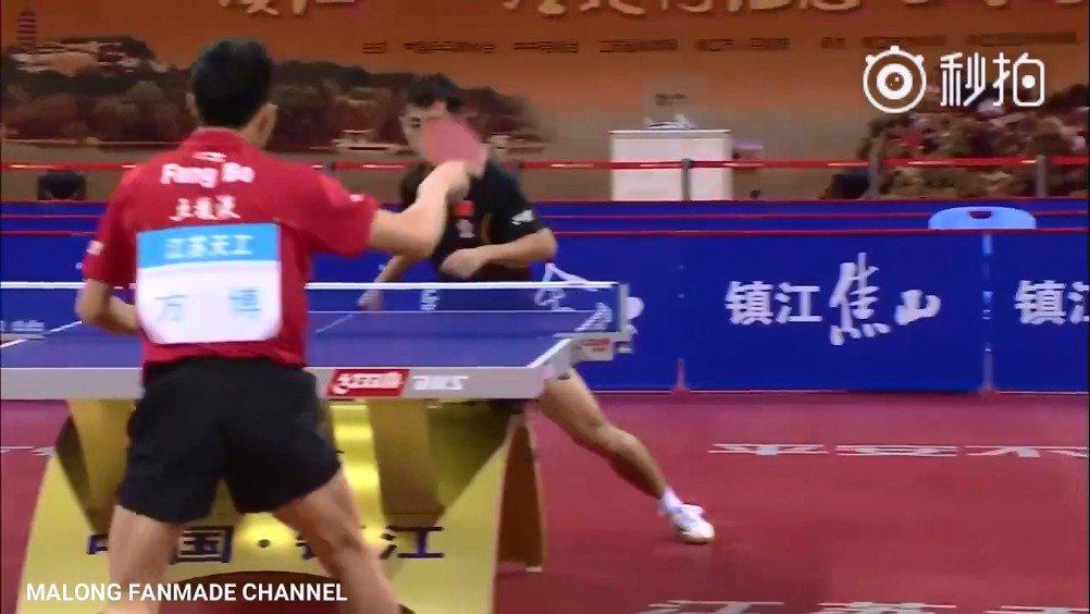 2015年世乒赛选拔赛,张继科VS方博 这场比赛一起来回忆下吧