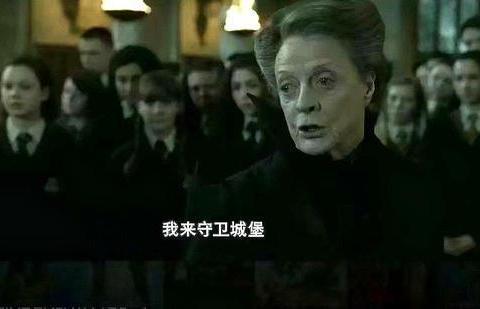 《哈利波特》:她是罗琳笔下的独立女性,外表严肃,偶尔傲娇