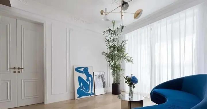 153平米房子法式风装修,这样的三居室简直是绝美,良心老师傅亲自打造
