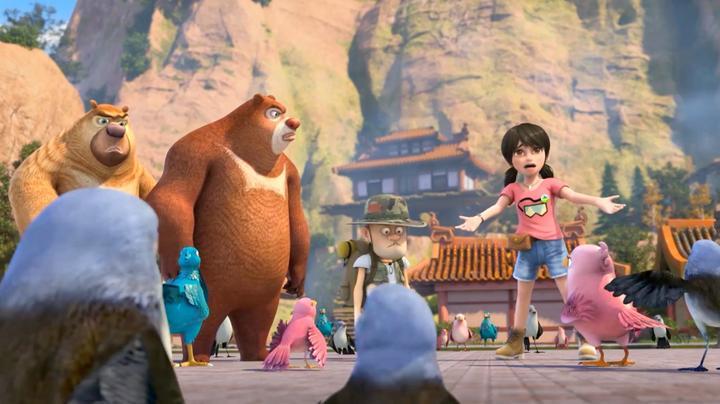 熊出没:赵琳三观真正,维护鸟国王,和这么多鸟对着干