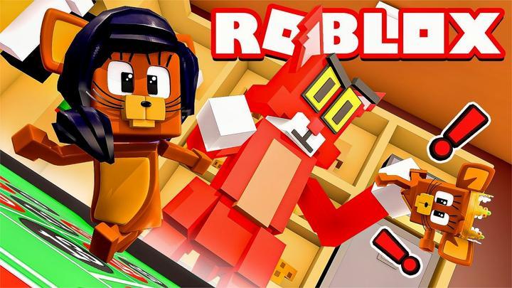 Roblox猫和老鼠:海绵宝宝世界解密逃生!偷取汉堡秘方?小格解说