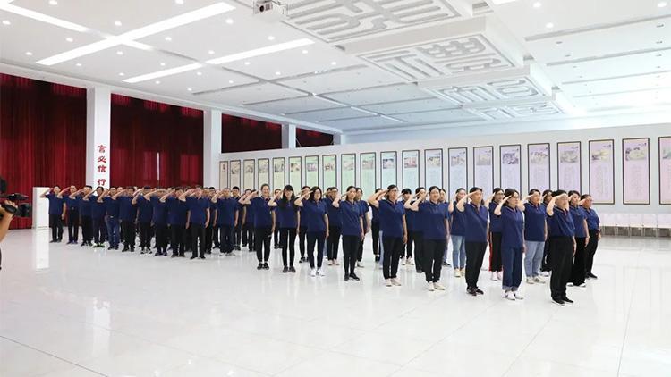 东营市利津县检察院开展国防教育暨拓展训练活动
