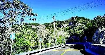 西山旅游公路龙山段全线贯通