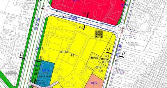 万达广场周边控规有调整!片区内122.8亩住宅用地12.6亿起拍