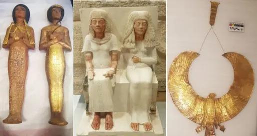 大埃及博物馆接收新一批2000件文物 共计接收54000件文物