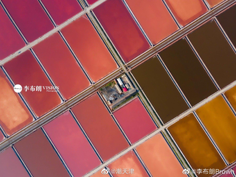 天津的汉沽盐场,有没有纪梵希的即视感 (by@李布朗Brown )