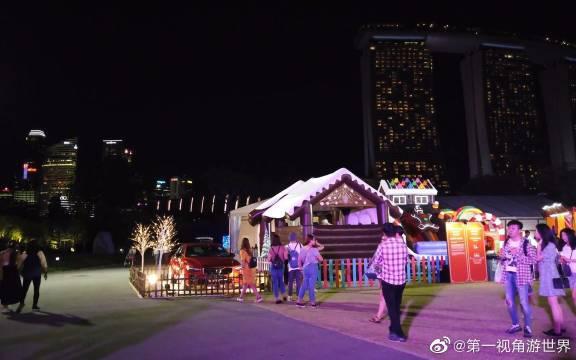 新加坡滨海湾花园 圣诞仙境! 我看见垃圾了,这得罚多少钱!?