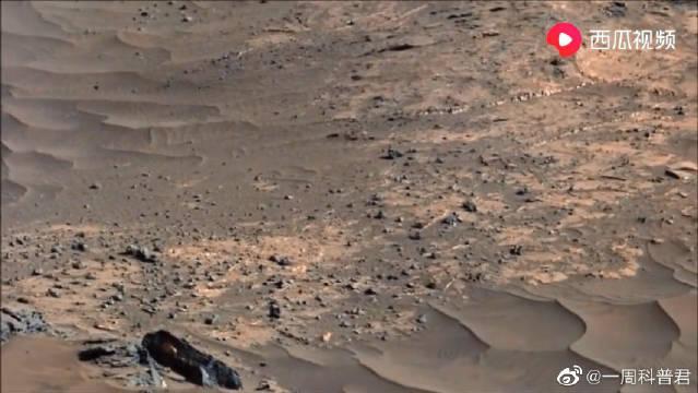 好奇号火星车,在火星表面拍摄到壮观的多龙卷风~