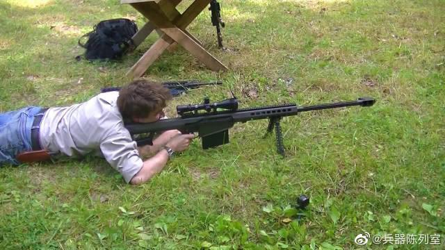 现实中的.50大口径狙击步枪,威力让人震撼……