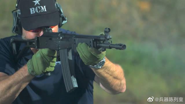 慢动作回放:加利尔突击步枪,户外靶场射击测试,可靠性极高!