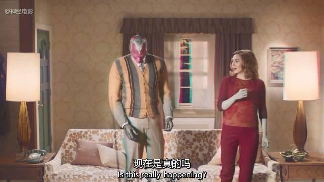《旺达·幻视》首发预告,我给预告片简单的加了中文字幕……