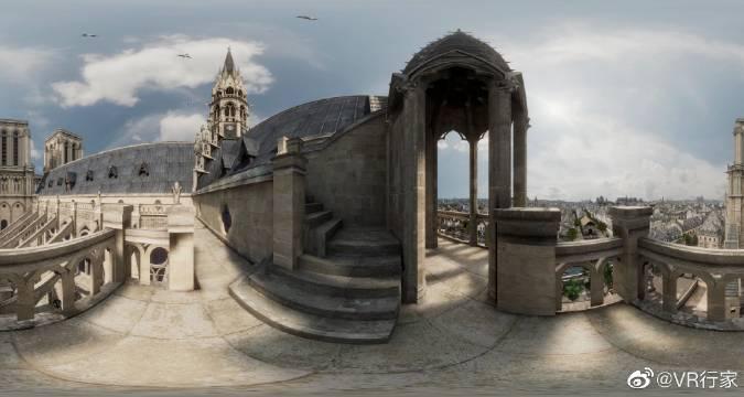 VR新作《巴黎圣母院:时光倒流》的演示宣传片……