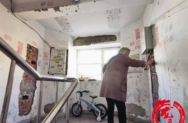 """大庆肇州""""一园"""":钢筋苯板红砖外露 这"""
