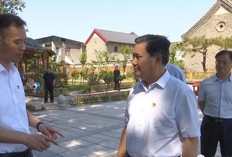 河南省副省长武国定到长垣市调研农村宅基地和自建住房改革工作