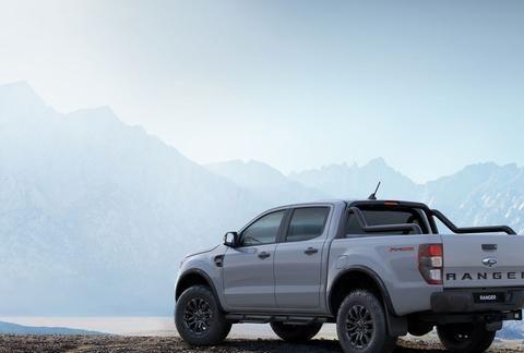 福特Ranger FX4 MAX官图发布 悬架系统升级/搭2.0T双涡轮引擎