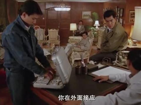 《江湖情》万锌良逞强坏事,刘德华中弹,周润发双枪闯入救人