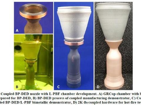 深度剖析NASA采用多合金增材制造可重复使用的推力室组件-4
