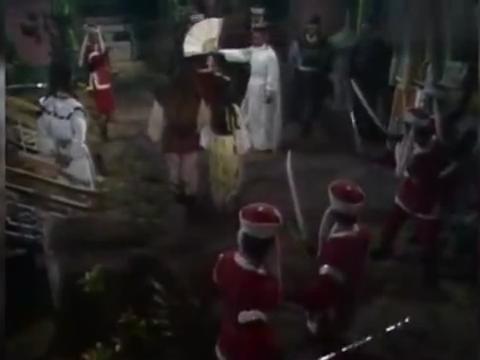 83版射雕:郭靖和黄蓉夜闯王府,刚要走就被男子拦下