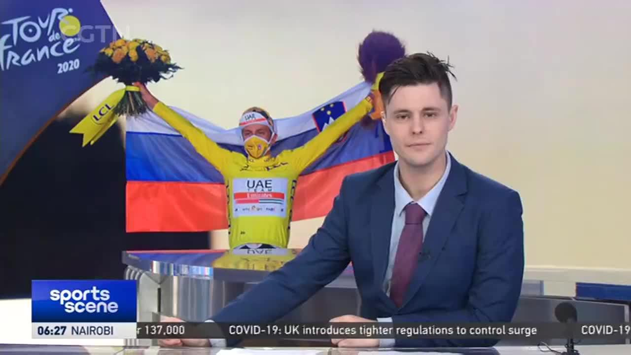 环法-波加查夺斯洛文尼亚历史首冠 并成史上第二年轻环法总冠军
