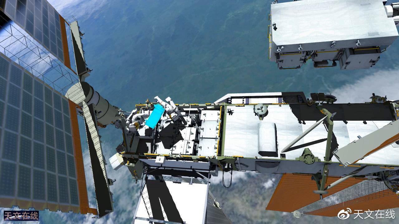 动画模拟:来看看宇航员们是如何在国际空间站外进行太空行走的