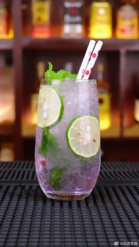 紫精灵莫吉托:给爱人来一杯Mojito……