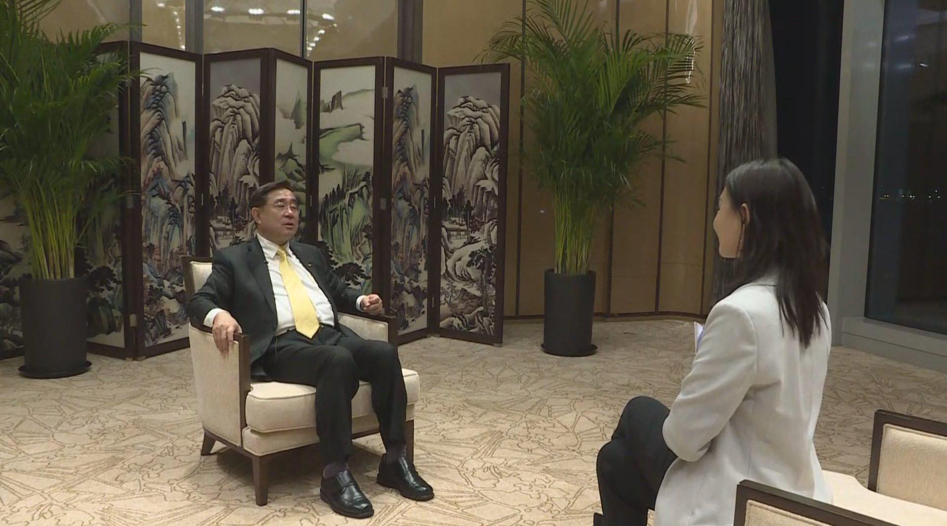 吴成典:两岸都是中国人 必须携手合作实现民族伟大复兴