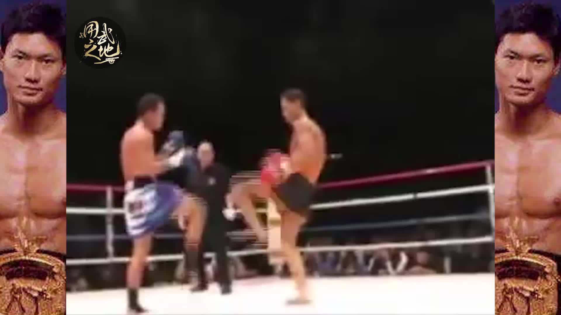 拳王周比利的退役之战,被打得鼻青脸肿!