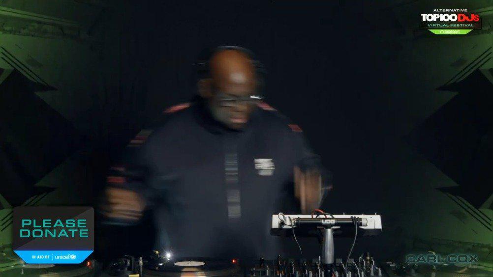 黑胖Carl Cox最新出席DJ Mag百大DJ线上音乐节现场首播!