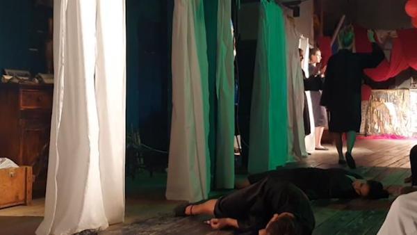 塞尔维亚上演中国文化戏剧《孙子兵法》