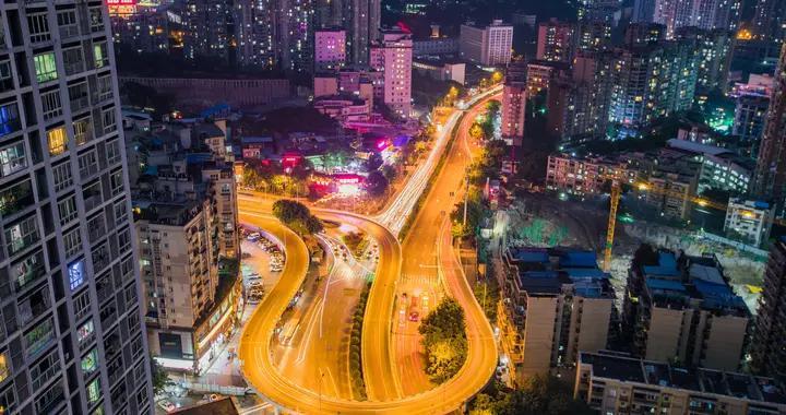 """魔幻城市 重庆""""大吉他""""立交桥成新网红打卡点"""