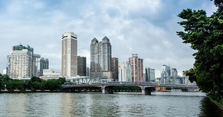 广州第一条跨越珠江的桥梁,曾在最早的中轴线上,入选过羊城八景
