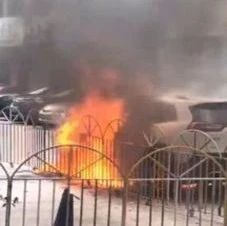 流沙一汽车发生自燃,现场火势凶猛还有爆炸声