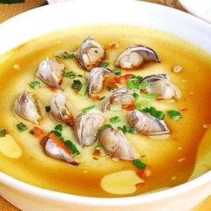 蛤蜊蒸蛋:鲜美嫩滑,补钙补铁一绝