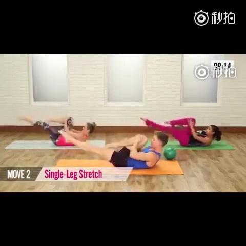 10分钟的家庭腹肌训练~强度不小哦!欢迎挑战~一起来试试吧!