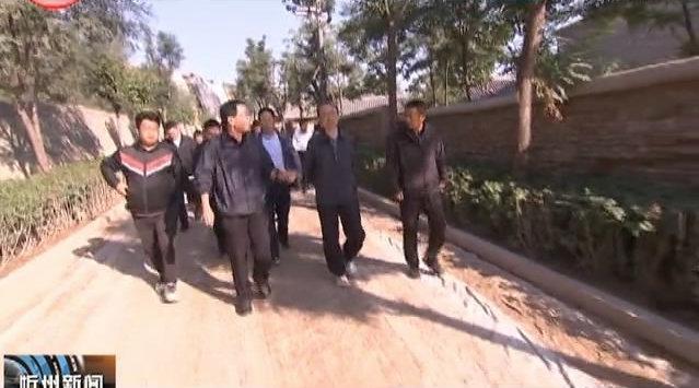 市委书记郑连生在忻州城区重点工程工地现场办公时强调