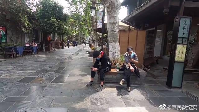 实拍成都宽窄巷子,来成都旅游必打卡之地,看看怎么样?