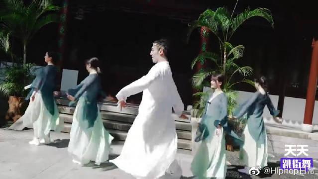 《烟雨行舟》国风舞蹈,独属于中国式的唯美,满是诗情画意