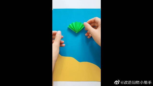 在家可以做的手工折纸,花一样的小乌龟,你学会了吗