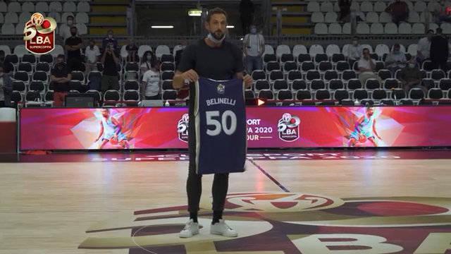 贝利内利最近在意大利篮球联赛50周年庆典上受到表彰……