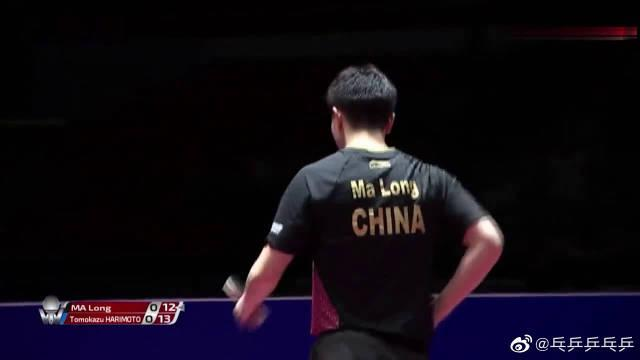 马龙vs张本智,可惜张本智成功复制了小胖赢龙队的办法!