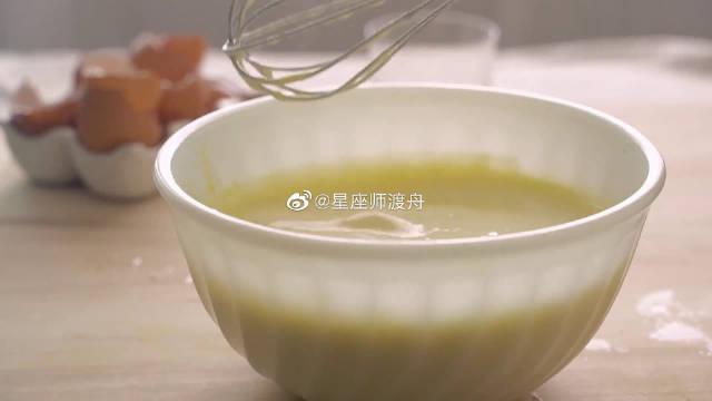 韩国女孩的美食VLOG,淡奶油苹果派