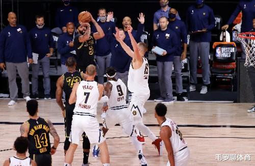 NBA官方为詹皇洗刷冤屈?联盟偏袒湖人不存在,别再说保送勒布朗