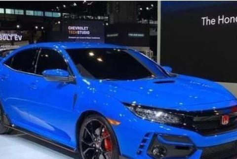 新的本田思域TypeR将出现在2020芝加哥车展上